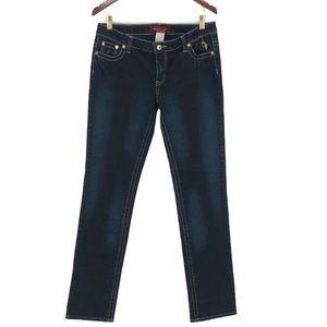 Baby Phat Dark Wash Skinny Jeans Size 11